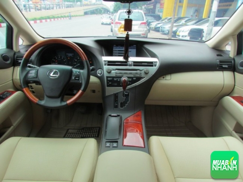 Nội thất Lexus RX 350