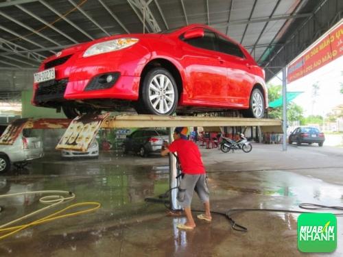 Lưu ý khi rửa xe ôtô