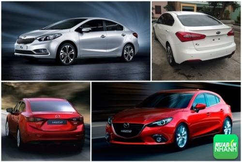 So sánh về ngoại thất Kia K3 và Mazda 3