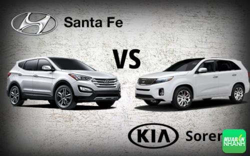 Hyundai Santafe và Kia Sorento