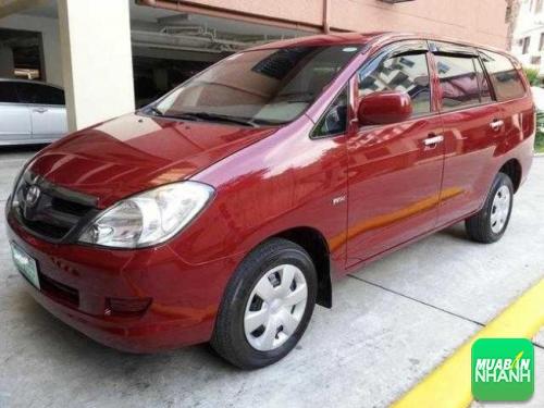 Năm 2008 Toyota Innova nâng cấp cải tiến mới