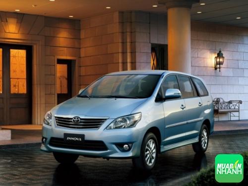 Thay đổi trên Toyota Innova 2012