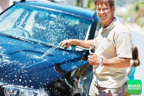 Rửa xe ôtô thế nào cho đúng cách
