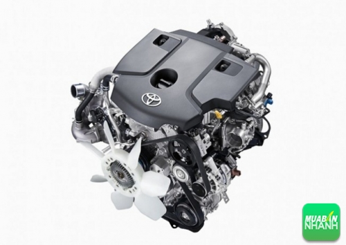 Động cơ mạnh mẽ, hiệu quả của Toyota Innova