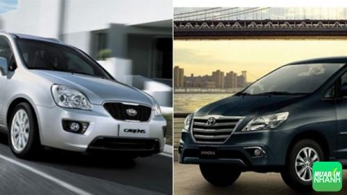 So sánh Kia Carens vs Toyota Innova