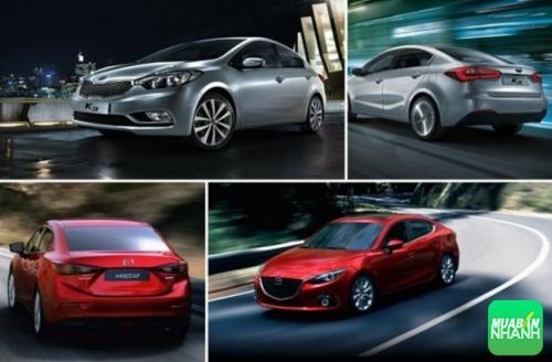 So Sánh Xe Mazda3 Và Kia K3 Sedan: xe ôtô nào đáng mua hơn