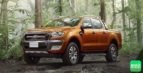 Bán tải Ford Ranger 2016 dẫn đầu phân khúc dòng xe được