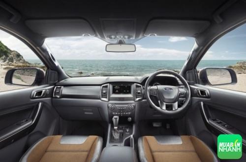 Nội thất của Ford Ranger Wildtrak 2016