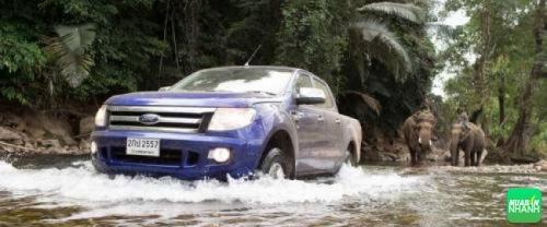 Khả năng lội nước của Ford Ranger