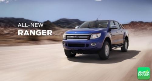 An toàn cho xe bán tải Ford Ranger