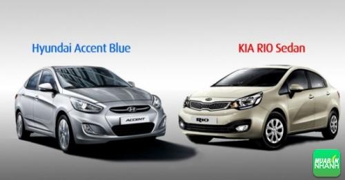So sánh Kia Rio và Hyundai Accent trong phân khúc sedan cỡ nhỏ