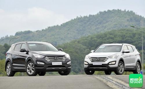 Hyundai Santafe máy dầu và máy xăng