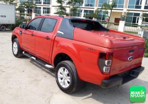 Nắp thùng bán tải Ford Ranger
