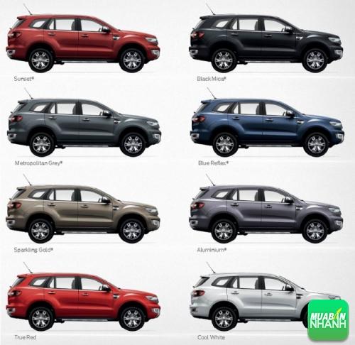 Giá phiên bản mới của Ford Everest