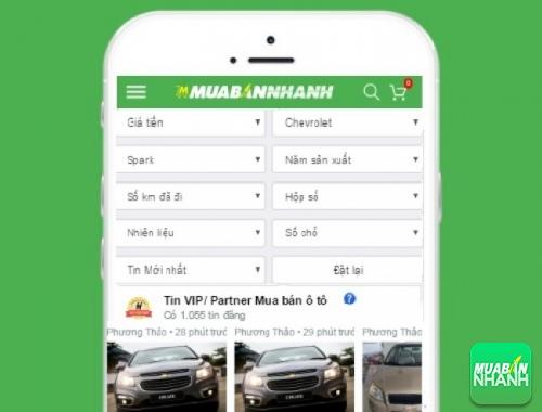 Tìm mua xe Chevrolet Cruze cũ hiệu quả trên Mạng xã hội MuaBanNhanh