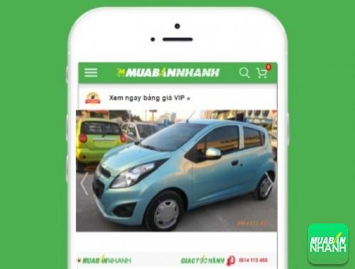 Chevrolet Spark Van - sản phẩm đang bán trên mạng xã hội MuaBanNhanh
