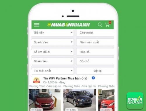 Tìm mua xe Chevrolet Spark cũ hiệu quả trên Mạng xã hội MuaBanNhanh