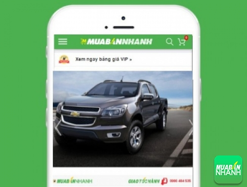 Chevrolet Colorado - sản phẩm đang bán trên mạng xã hội MuaBanNhanh