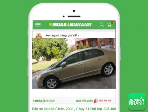 Honda Civic - sản phẩm đang bán trên mạng xã hội MuaBanNhanh