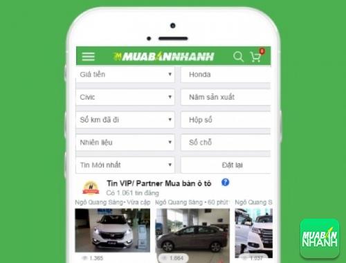 Tìm mua xe Honda Civic cũ hiệu quả trên Mạng xã hội MuaBanNhanh