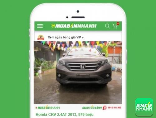 Honda CR-V - sản phẩm đang bán trên mạng xã hội MuaBanNhanh