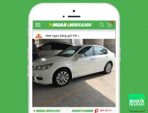 Honda Accord - sản phẩm đang bán trên mạng xã hội MuaBanNhanh