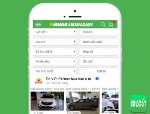 Tìm mua xe Honda Accord cũ hiệu quả trên Mạng xã hội MuaBanNhanh