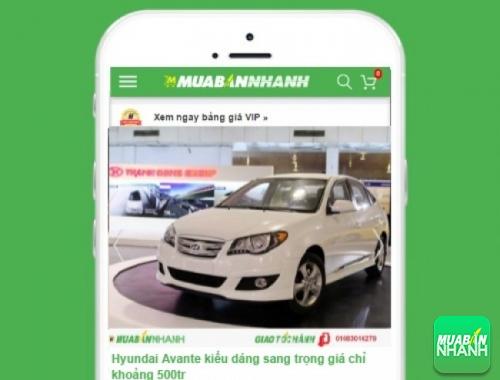 Hyundai Avante - sản phẩm đang bán trên mạng xã hội MuaBanNhanh