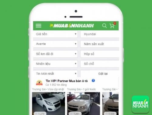 Tìm mua xe Hyundai Avante cũ hiệu quả trên Mạng xã hội MuaBanNhanh