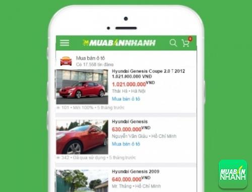 Giá xe Hyundai Genesis trên mạng xã hội MuaBanNhanh