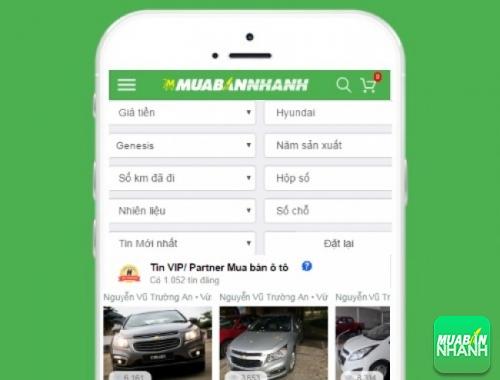 Tìm mua xe Hyundai Genesis cũ hiệu quả trên Mạng xã hội MuaBanNhanh