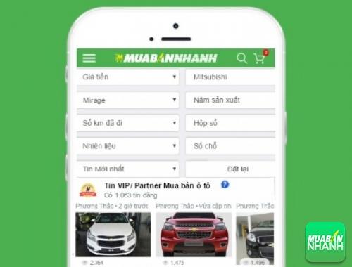 Tìm mua xe Mitsubishi Mirage cũ hiệu quả trên Mạng xã hội MuaBanNhanh