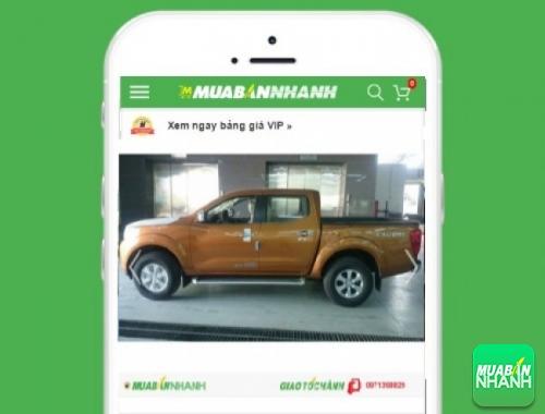 Nissan Navara - sản phẩm đang bán trên mạng xã hội MuaBanNhanh