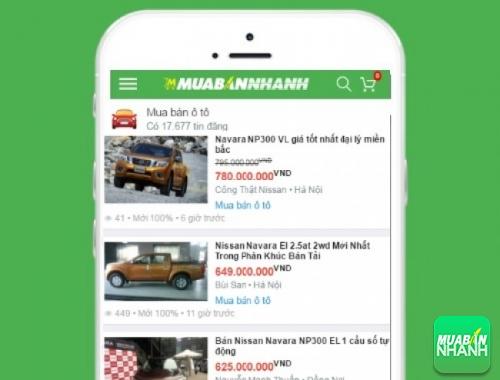 Giá xe Nissan Navara trên mạng xã hội MuaBanNhanh