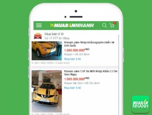 Giá xe Nissan Juke trên mạng xã hội MuaBanNhanh