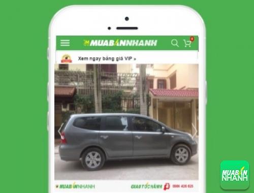 Nissan Livina - sản phẩm đang bán trên mạng xã hội MuaBanNhanh