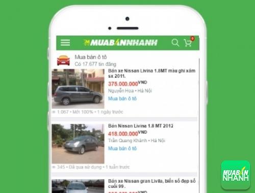 Giá xe Nissan Livina trên mạng xã hội MuaBanNhanh