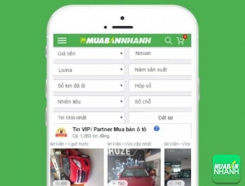 Tìm mua xe Nissan Livina cũ hiệu quả trên Mạng xã hội MuaBanNhanh