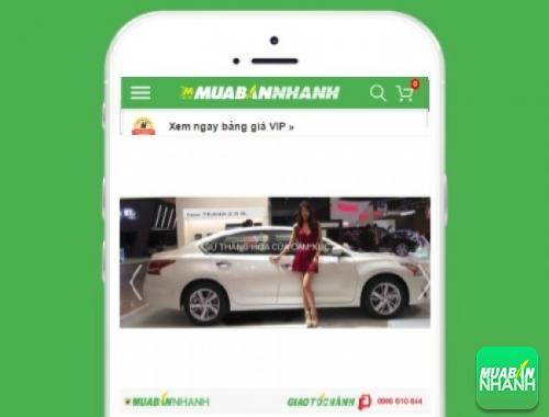 Nissan Murano - sản phẩm đang bán trên mạng xã hội MuaBanNhanh