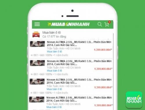 Giá xe Nissan Murano trên mạng xã hội MuaBanNhanh