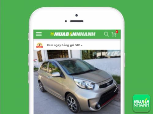 Tin đăng bán xe Kia Morning Si 2016 tại Mua Bán Nhanh