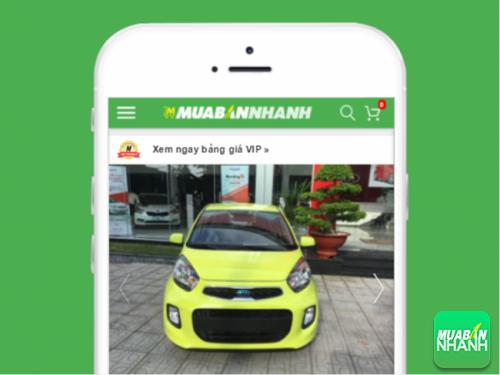 Mẫu xe Kia Morning mới được đăng tin bán trên Mua Bán Nhanh