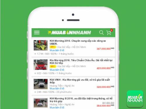 Chọn mua chiếc Kia Morning ưng ý từ hàng trăm tin đăng bán tại Mua Bán Nhanh