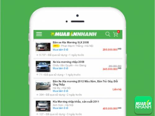 Chọn mua Kia Morning cũ với nhiều lựa chọn từ hàng ngàn tin đăng bán xe tại Mua Bán Nhanh