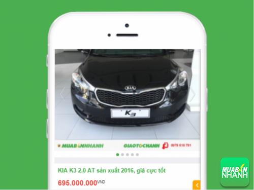 Xe Kia K3 được đăng bán tại Mua Bán Nhanh