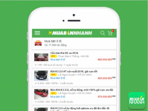 Nhanh chóng chọn mua chiếc Kia K3 như ý với hàng trăm tin đăng bán trên Mua Bán Nhanh