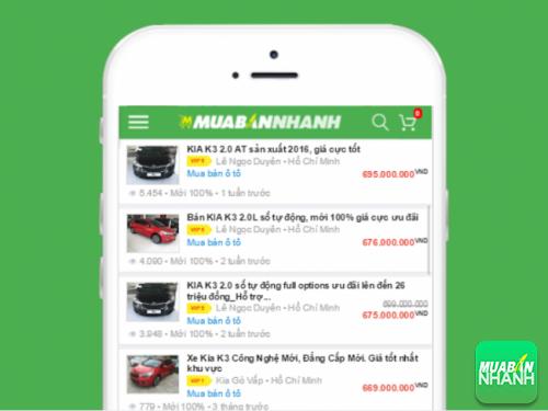 Không khó để chọn được chiếc Kia K3 ưng ý từ hàng trăm tin đăng mua bán tại Mua Bán Nhanh