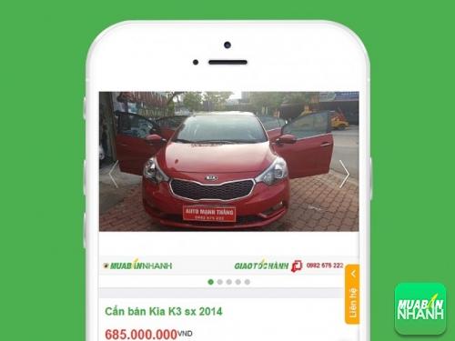 Xe Kia K3, giá tốt được đăng bán tại Mua Bán Nhanh