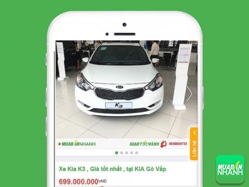 Xe Kia K3, tiết kiệm nhiên liệu được đăng bán tại Mua Bán Nhanh