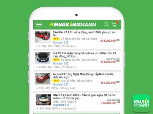 Kia K3 giá ưu đãi bán tại Mua Bán Nhanh